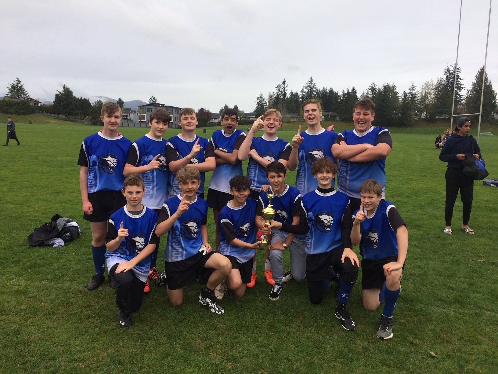Clayburn Gr 8 Boys 2019 Sevens Champs
