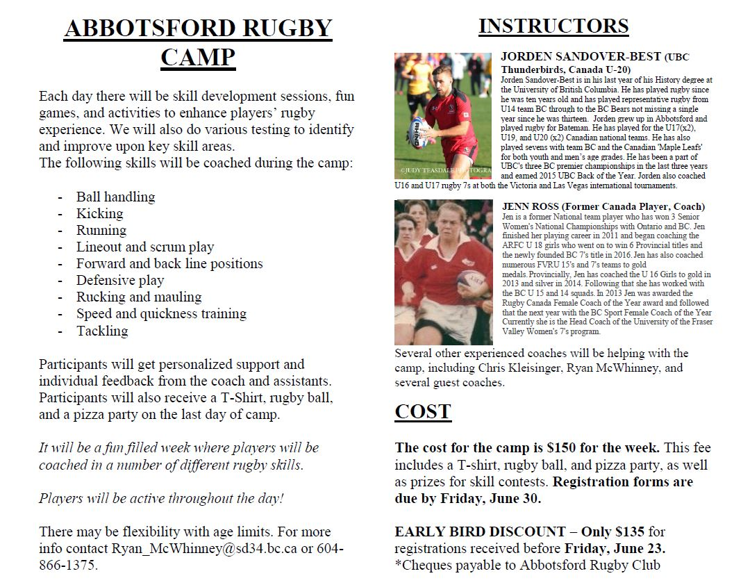 Rugby Camp 2017 pg 2